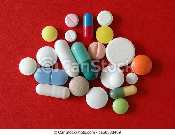 Pills - csp0533409