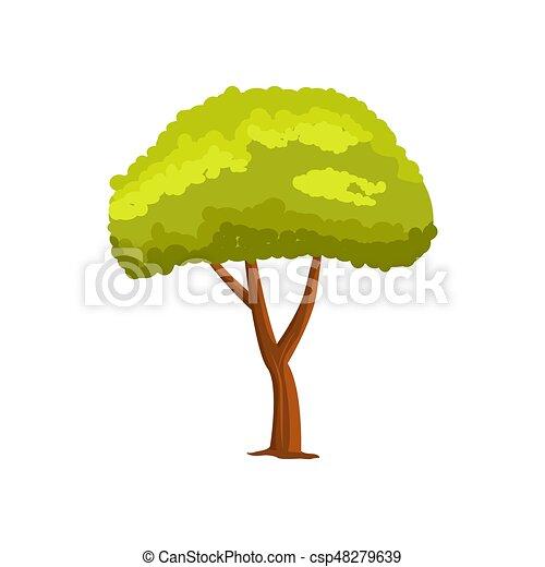 Pine green tree vector icon - csp48279639