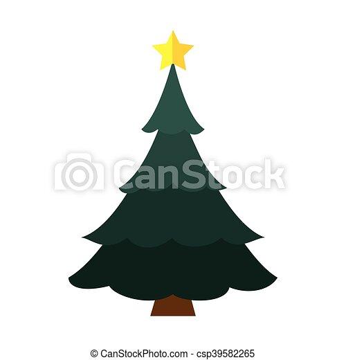 Tall Christmas Tree Clipart.Pine Tall Tree Plant Christmas