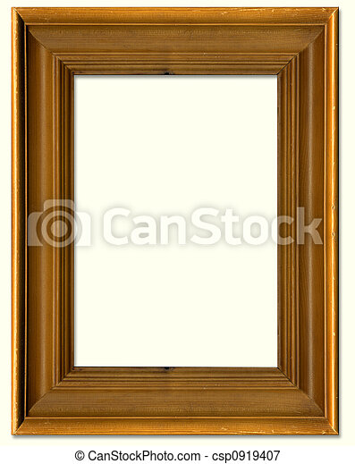 Pine Wood Picture Frame Border Design