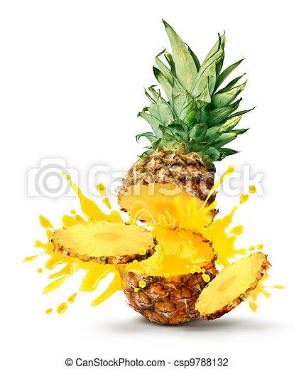 Pineapple juice burst - csp9788132