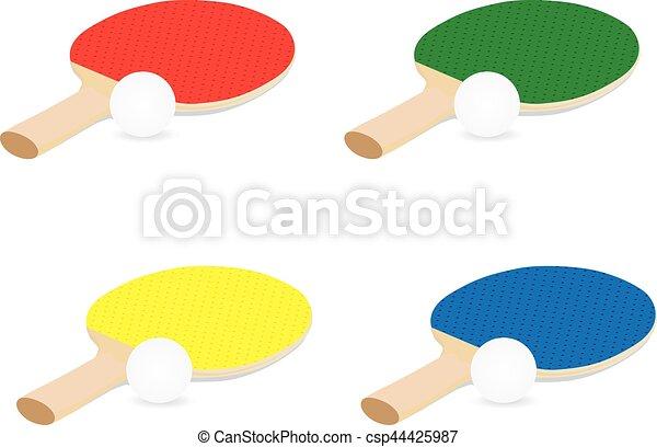 ping-pong, équipement - csp44425987