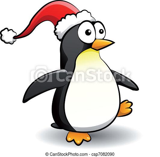 kappe weihnachten pinguin vektor clipart suche. Black Bedroom Furniture Sets. Home Design Ideas