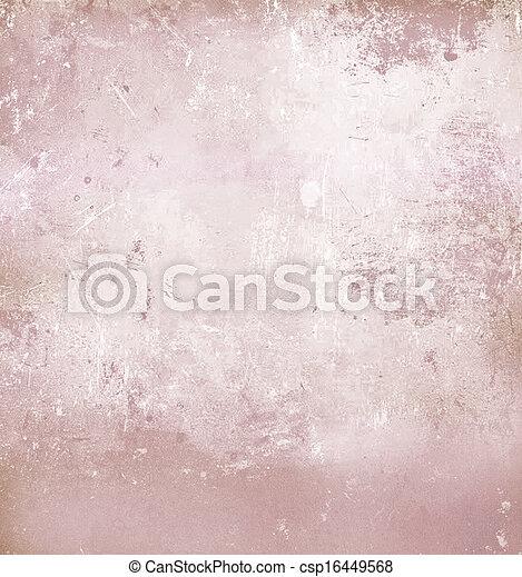 Pink abstract grunge background - csp16449568