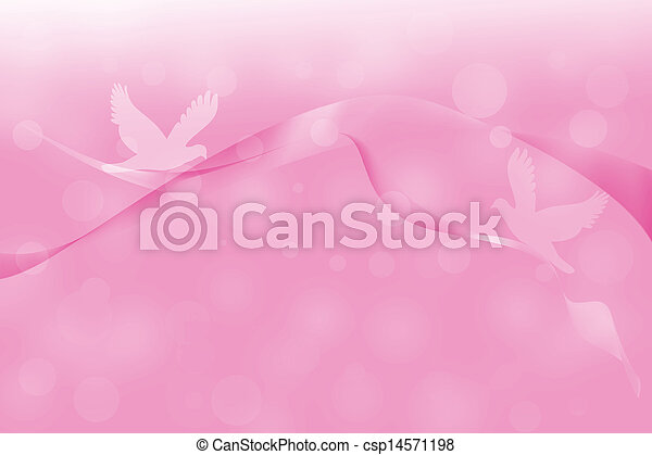 Pink abstract lines with glowing background - csp14571198