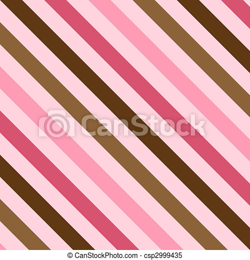 Pink and Brown Stripes - csp2999435