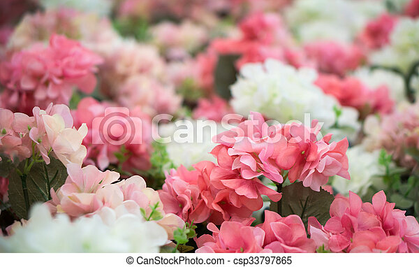 Pink And White Plastic Flowers Beautiful Of Pink And White Plastic