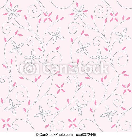 Pink baby swirl pattern - csp8372445