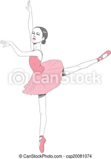 Pink Ballerina Tutu dress - csp20081074