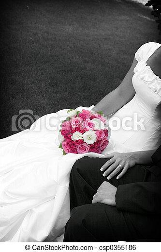 pink bouquet - csp0355186