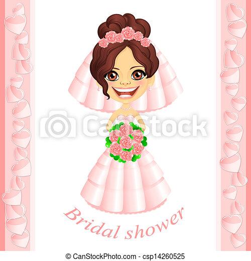 pink bridal shower invitation csp14260525