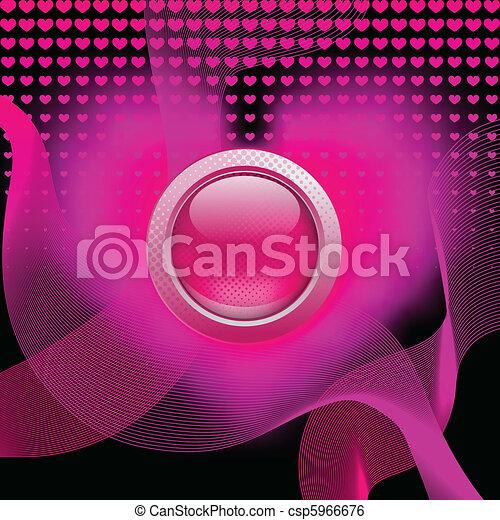 Pink button - csp5966676