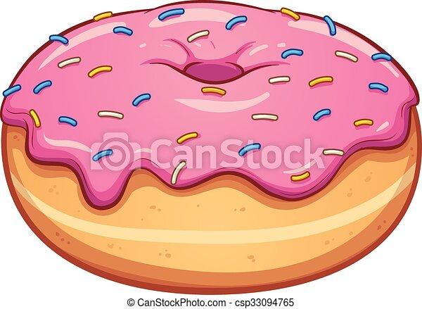 pink donut pink cartoon donut vector clip art illustration clip rh canstockphoto com donut clipart border doughnut clip art free