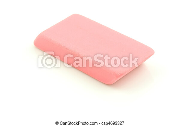 Pink Eraser - csp4693327