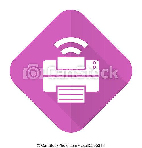pink flat icon - csp25505313