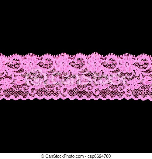 pink floral lace band csp6624760