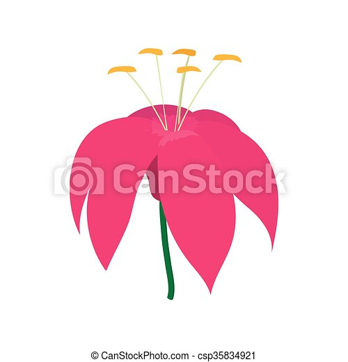 Pink flower icon cartoon style pink flower icon in cartoon pink flower icon cartoon style csp35834921 mightylinksfo Choice Image