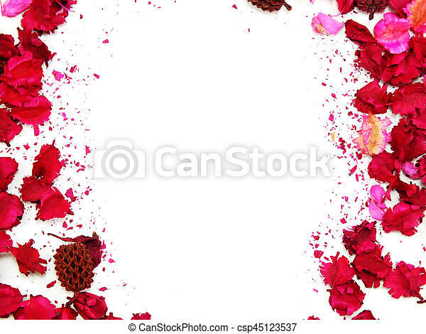 Pink flowers border frame with white background stock photos pink flowers border frame with white background csp45123537 mightylinksfo