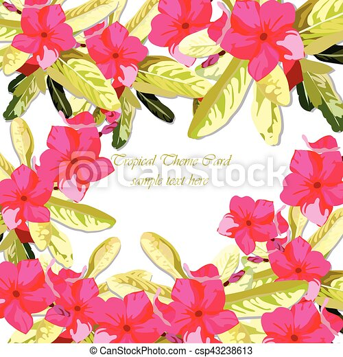 Pink fuchsia summer flowers background watercolor floral wreath pink fuchsia summer flowers background csp43238613 mightylinksfo