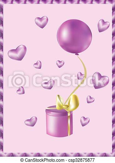 pink gift - csp32875877