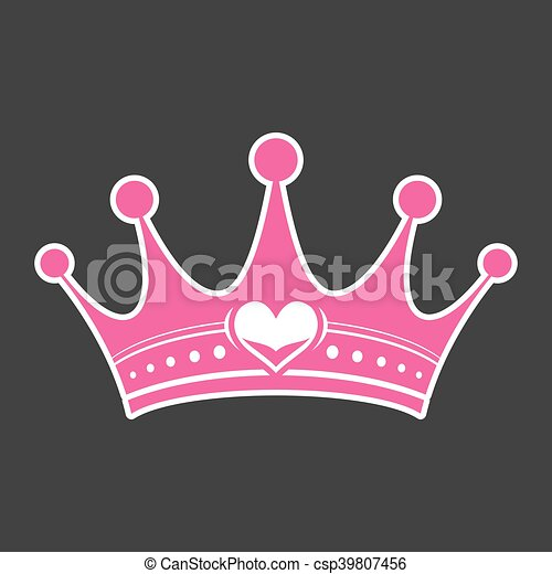 Pink girly princess royalty crown with heart jewel clipart ... | 450 x 470 jpeg 20kB