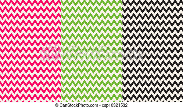 pink green black chevron papers backgrounds or papers