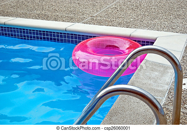 Pink Inflatable Pool Ring   Csp26060001