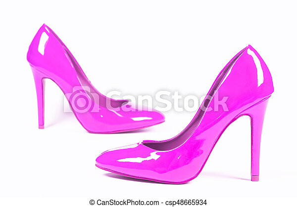 Sexy pink pumps