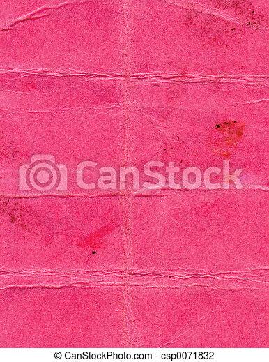 pink paper - csp0071832
