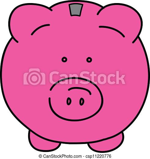 Pink pig - csp11220776
