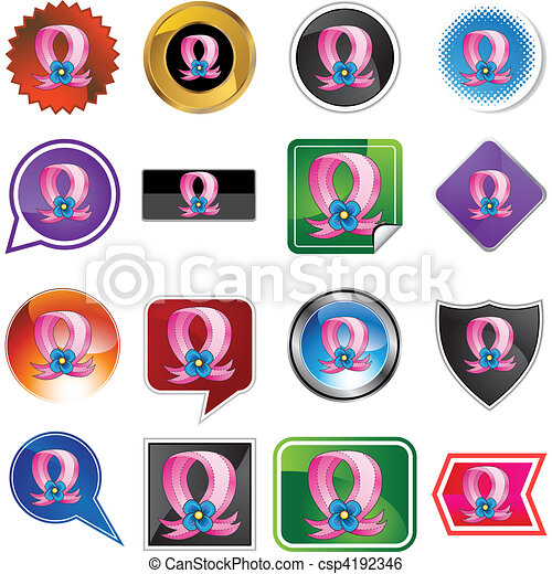 Pink Ribbon - csp4192346
