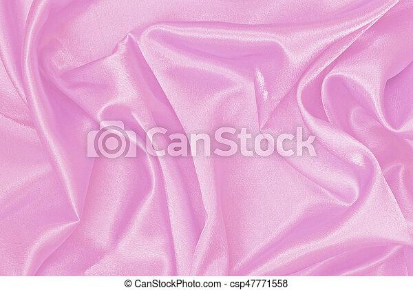 Pink satin background - csp47771558