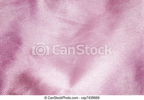 Pink satin background. - csp7438669