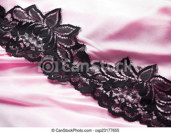 Pink satin - csp23177655