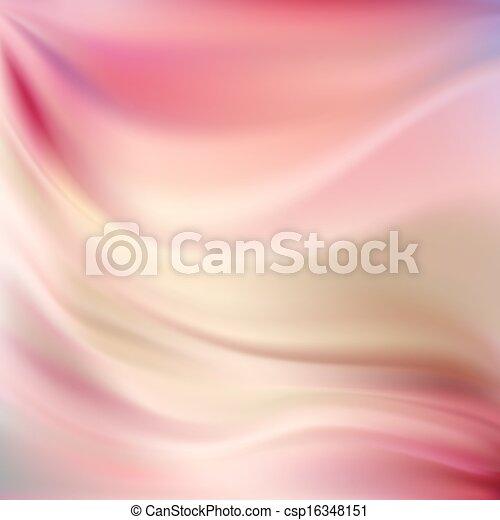 Pink Silk Backgrounds - csp16348151