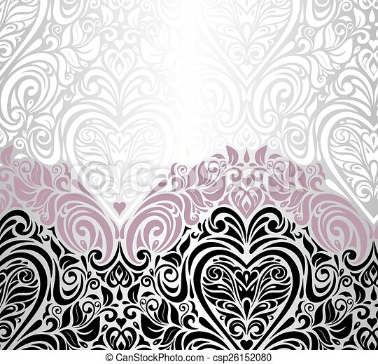 pink silver and black background pink silver and black wedding vintage floral invitation background https www canstockphoto com pink silver and black background 26152080 html