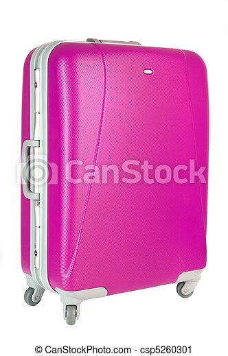 pink suitcase - csp5260301