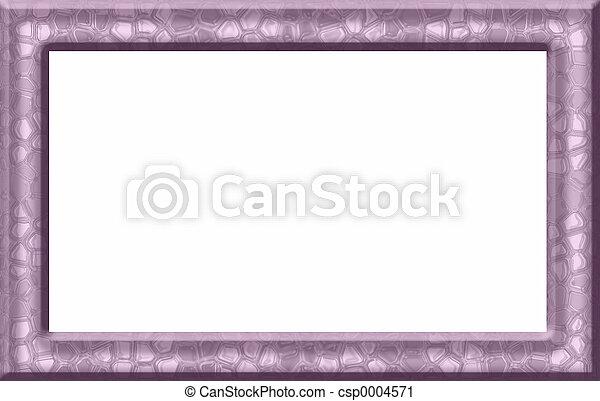 Pink Textured Frame - csp0004571