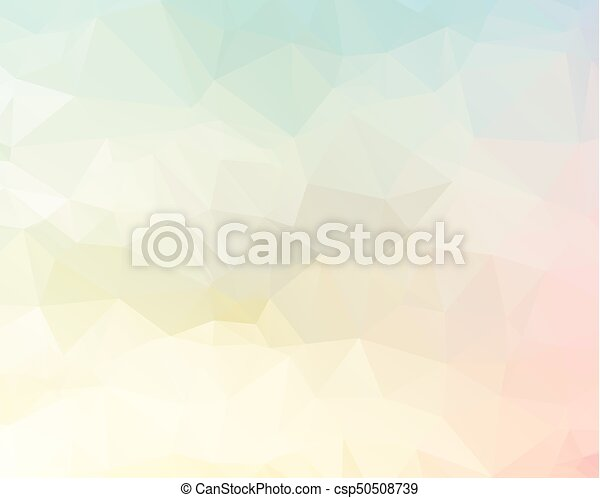 Pink Triangle Background Design Geometric In Origami Style With Gradient