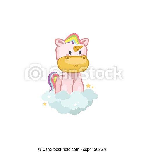 Pink Unicorn - csp41502678