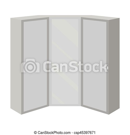 Magnificent Pink Wardrobe With Two Doors And A Mirror Bedroom Wardrobe Bedroom Furniture Single Icon In Monochrome Style Vector Symbol Stock Illustration Home Interior And Landscaping Oversignezvosmurscom