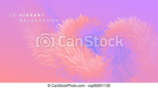 Pink Wave Fluid. Neon Graphic Template. Color - csp82601138