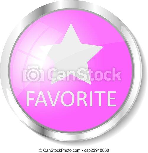 Pink web button - csp23948860