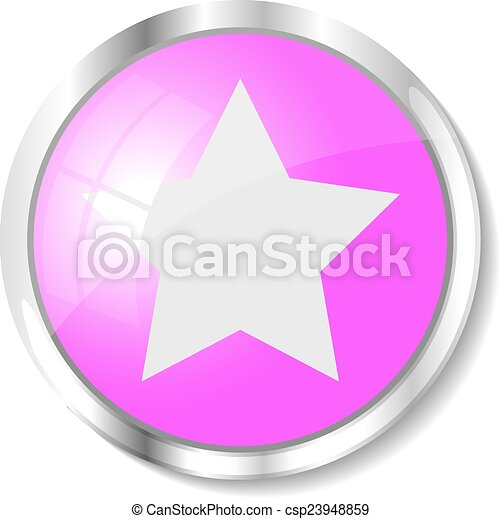 Pink web button - csp23948859