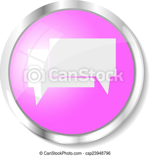 Pink web button - csp23948796