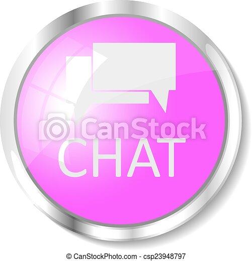 Pink web button - csp23948797