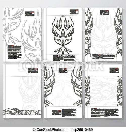 Pinstripe Design Backgrounds Brochure Flyer Or Report For Business