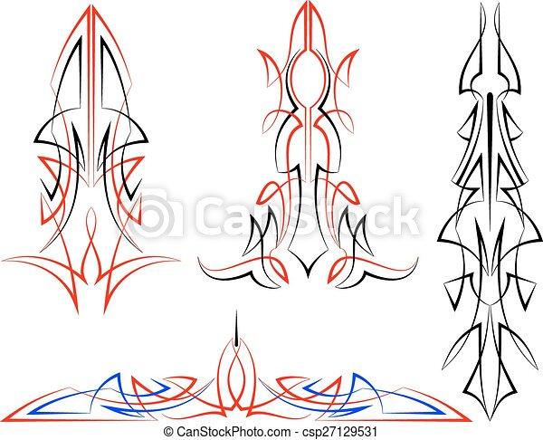 pinstripe graphics vinyl ready vector art vectors search clip rh canstockphoto co nz Racing Pin Stripes Clip Art Scroll Line Clip Art