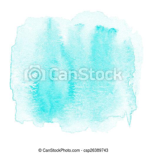 pintado, abstratos, mancha tinta, mão traseira, aquarela, molhados, textured - csp26389743