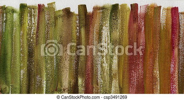 pintado, multicolor, grunge, lona, textura - csp3491269
